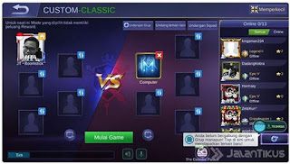 cheat damage mobile legend tanpa root