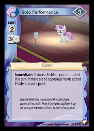 My Little Pony Solo Performance Equestrian Odysseys CCG Card