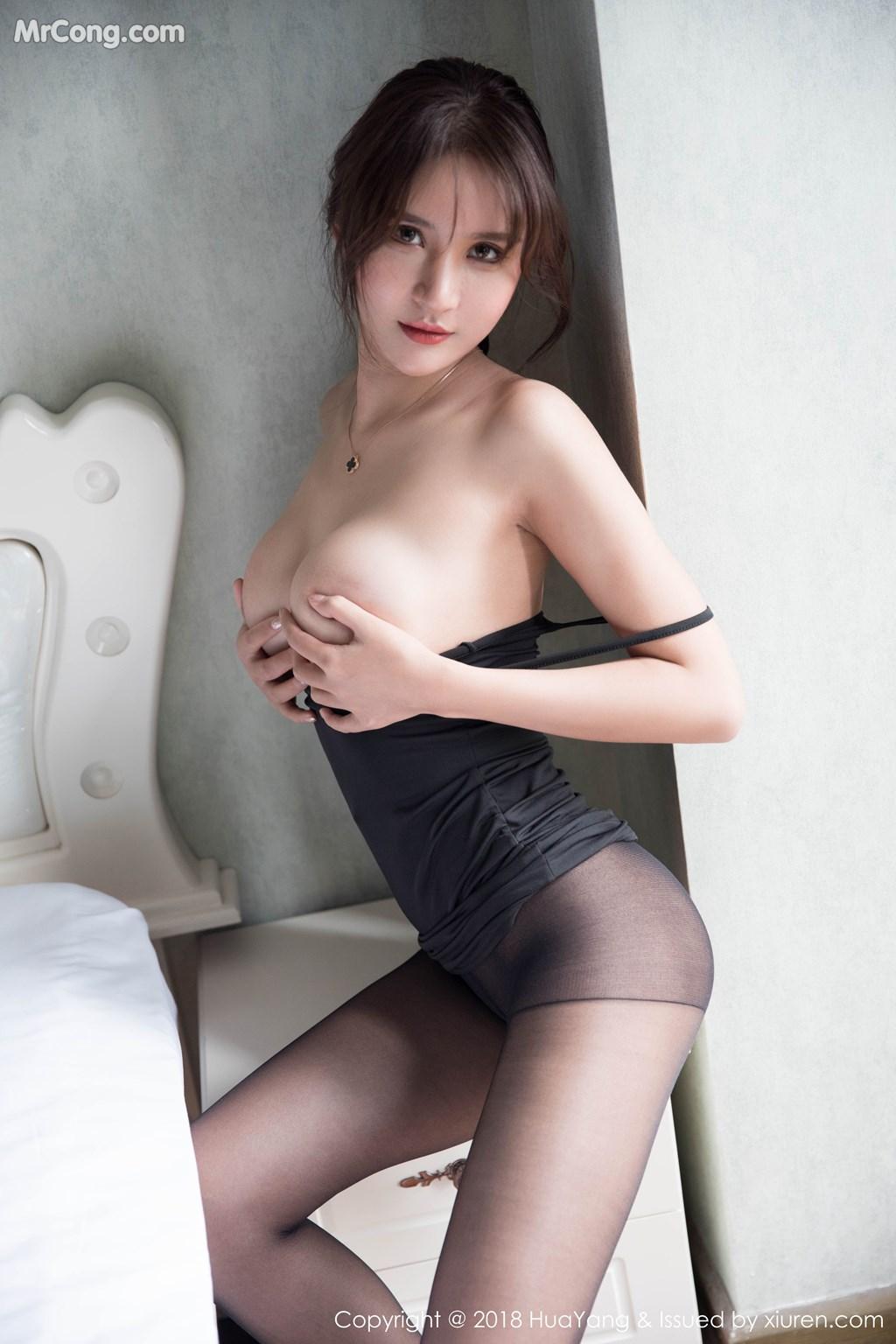 Image HuaYang-2018-11-14-Vol.095-SOLO-MrCong.com-023 in post HuaYang 2018-11-14 Vol.095: Người mẫu SOLO-尹菲 (46 ảnh)
