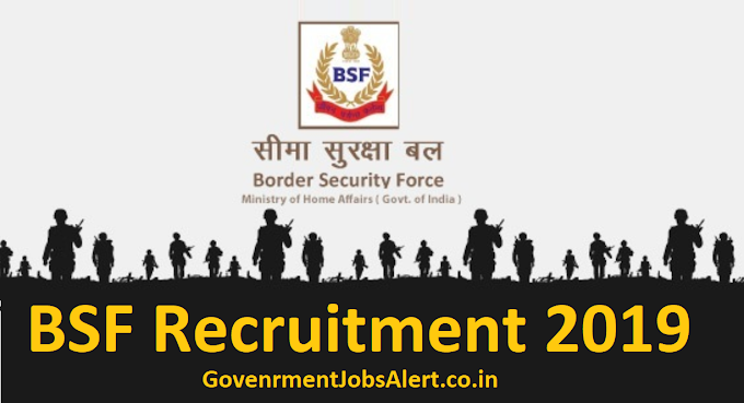 BSF Constable Recruitment 2019 Application From 1761 Post Apply Online