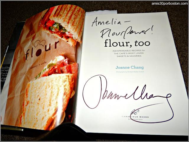 Mi Libro Dedicado por la Autora de Flour, Joanne Chang