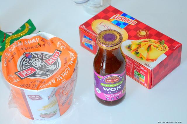 pâtes - nouilles - sauce soja - lasagnes - lustucru
