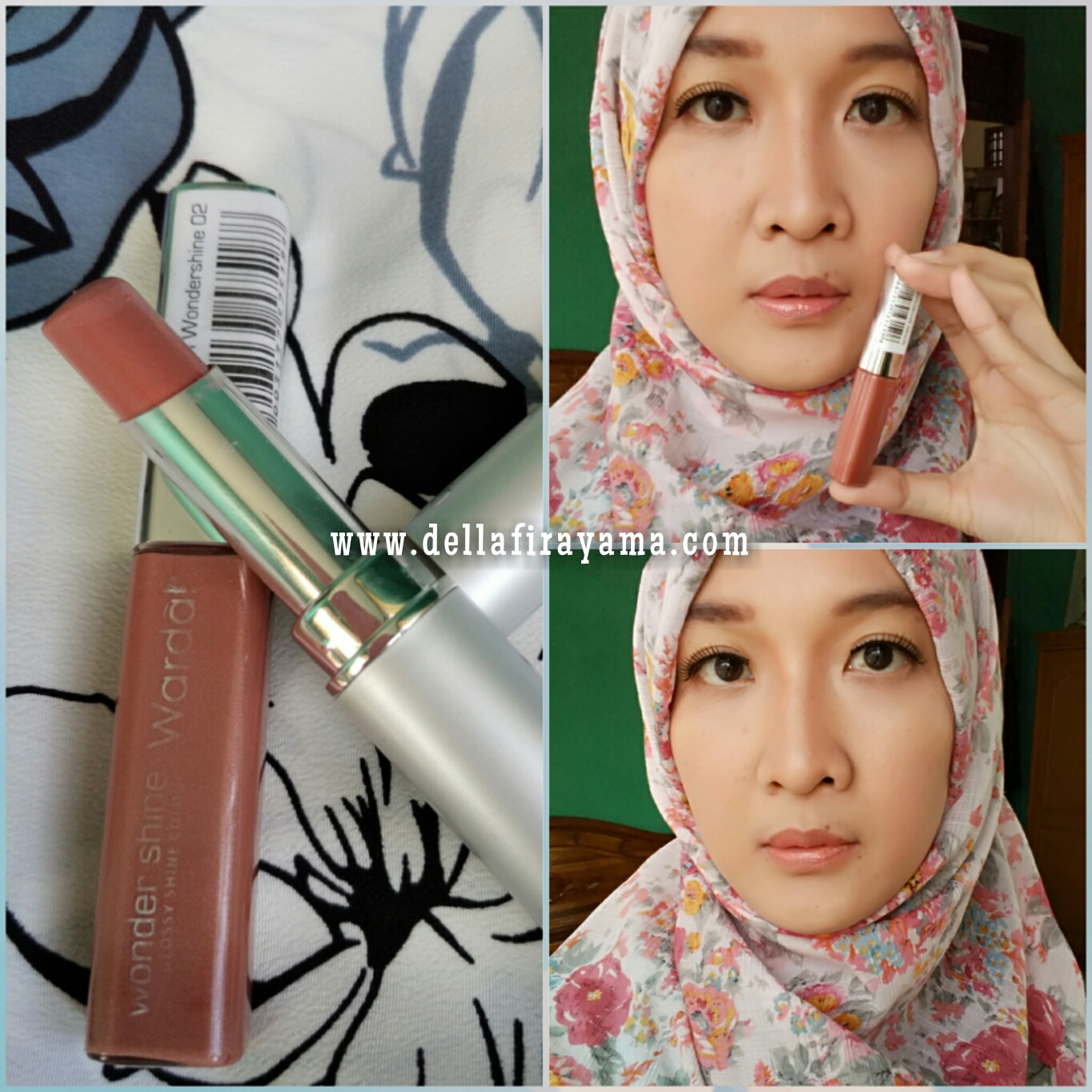 Review Wardah Wondershine No. 02 (Creamy Brown) dan No. 04