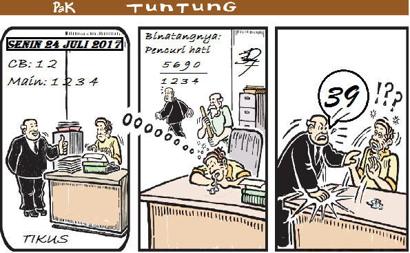 Prediksi Gambar Pak Tuntung Senin 24 07 2017