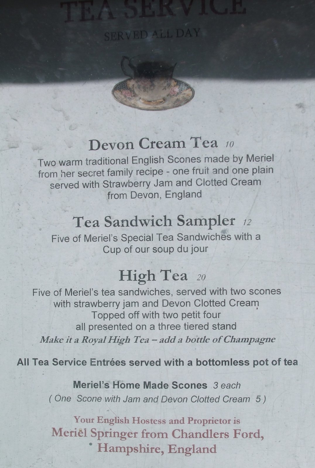High tea menus and recipes - Crave Is An Absinthe House More About That Tomorrow And Restaurant But With British Born Owners They Ve Added Afternoon Tea To Their Menu