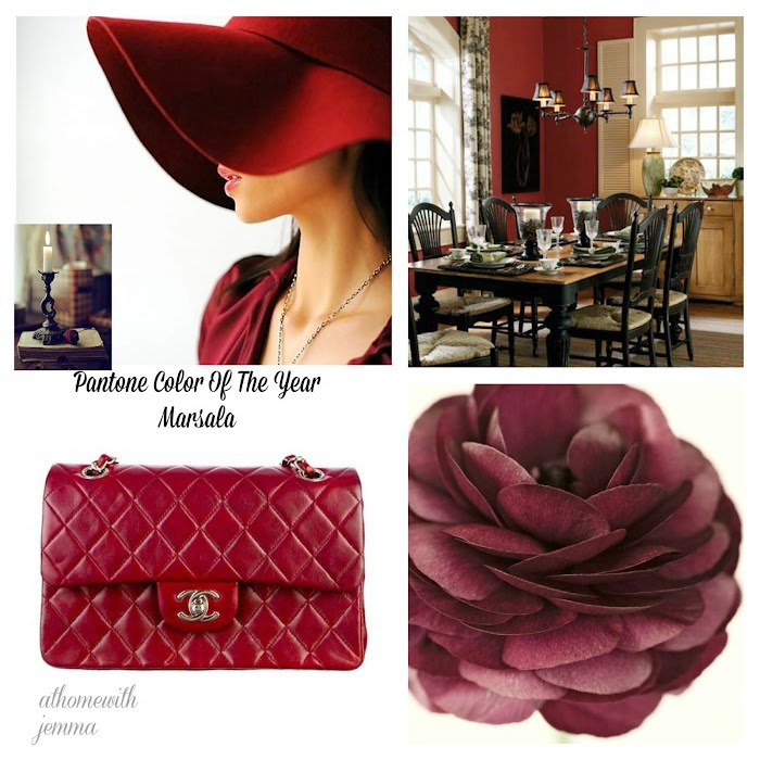 Passion  Fashion For Marsala