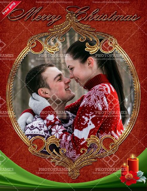 Lindo marco de navidad y año nuevo - Cute christmas and new year frame