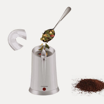How to make Expensive Teas go a long way - grinder