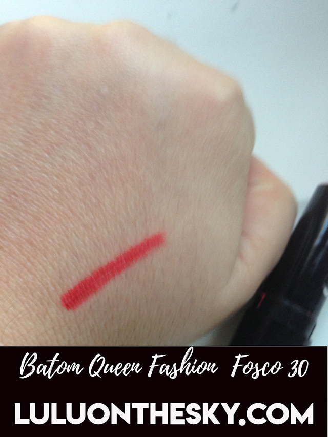 Batom Queen Fashion Fosco 30