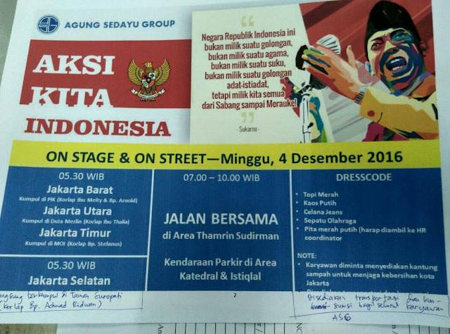 "Pengembang Properti Bikin ""Aksi Kita Indonesia"", Aksi Tandingan 212?"