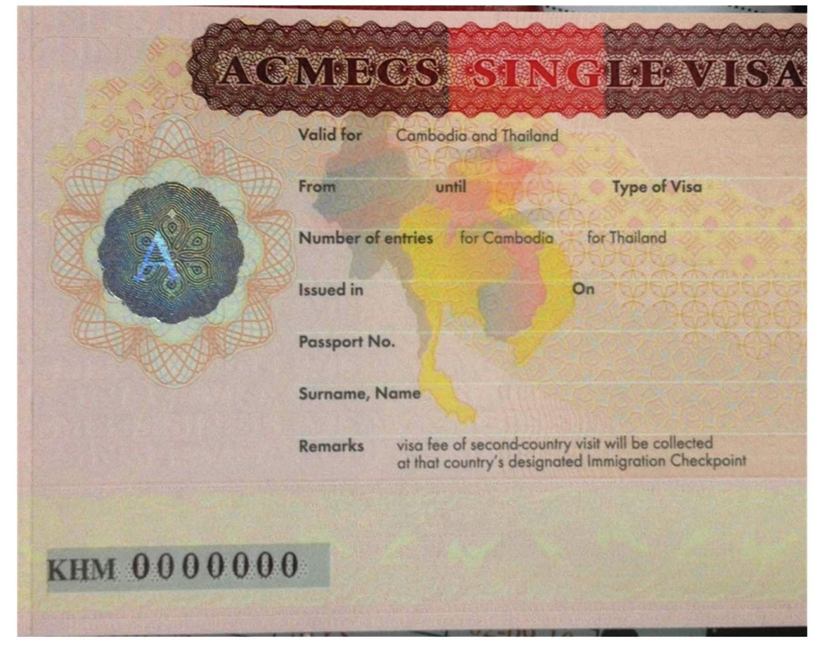 ACMECS SINGLE VISA PDF