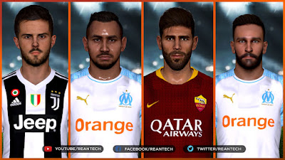 PES 2017 Best Facepack Collection by Rean Tech Vol 2