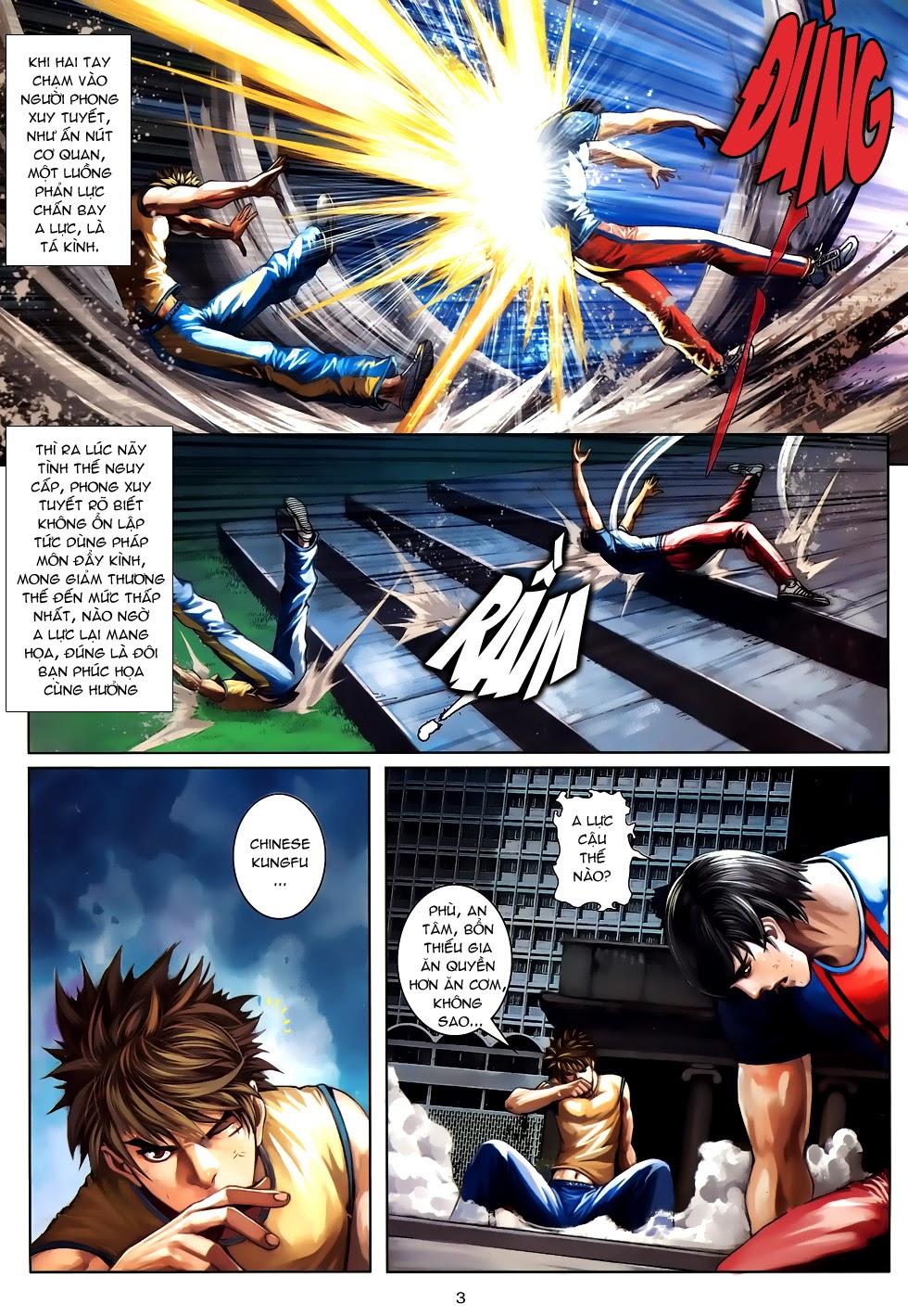 Quyền Đạo chapter 10 trang 3