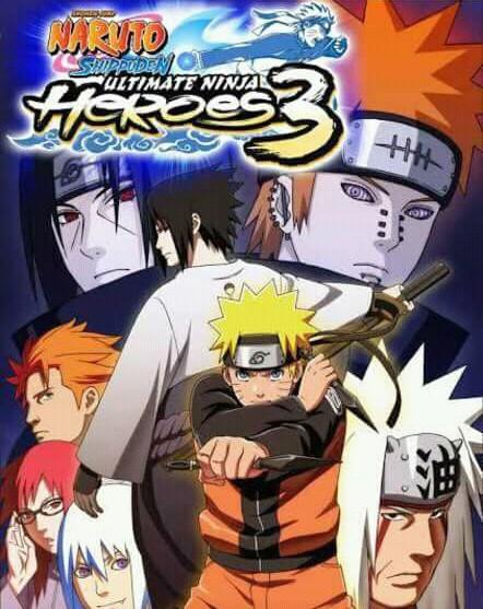 Naruto Ultimate Ninja Heroes 3 PPSSPP