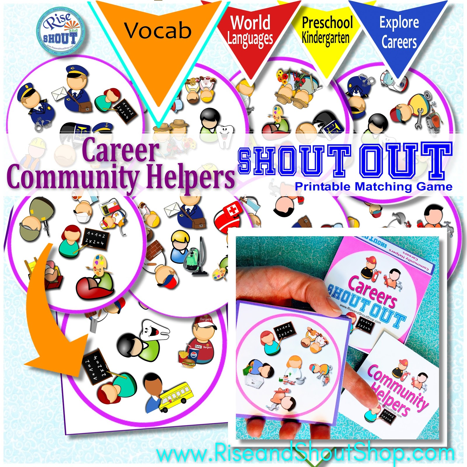 rise and shout careers shout out