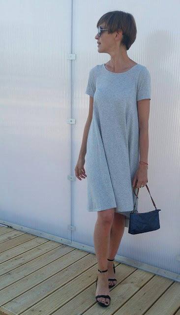 Sukienka, wakacyjna sukienka, Novamoda streetstyle, osobista stylistka poznan, stylistka, blog po 30-tce, casual