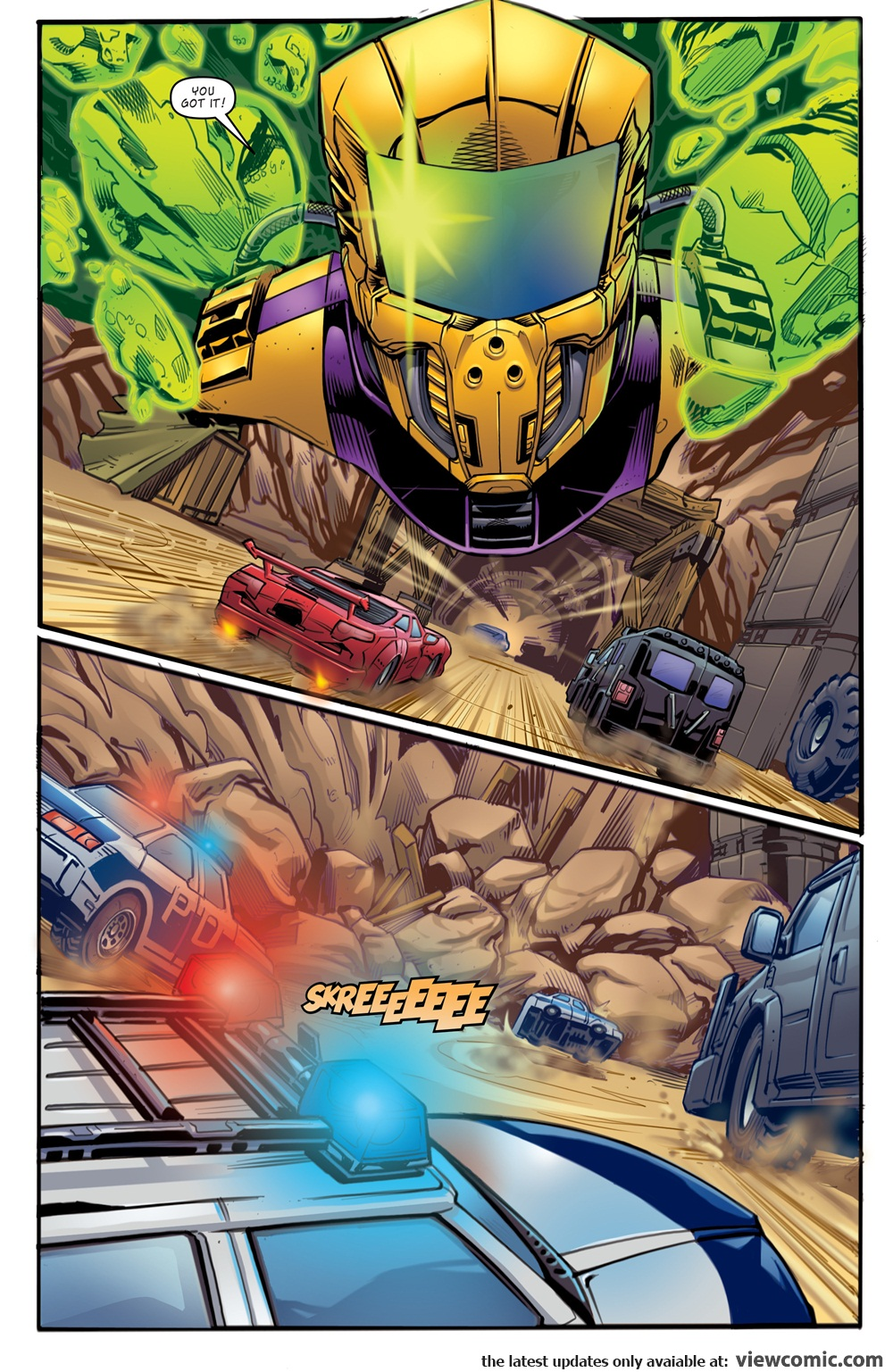 M.A.S.K. – Mobile Armored Strike Kommand 001 (2016) | Vietcomic.net reading comics online for free