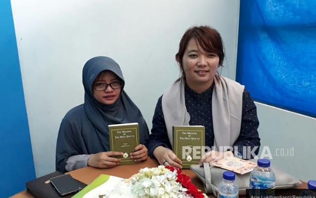 Inilah 2 Wanita yang Langsung Bersyahadat di Ceramah Zakir Naik UPI Bandung