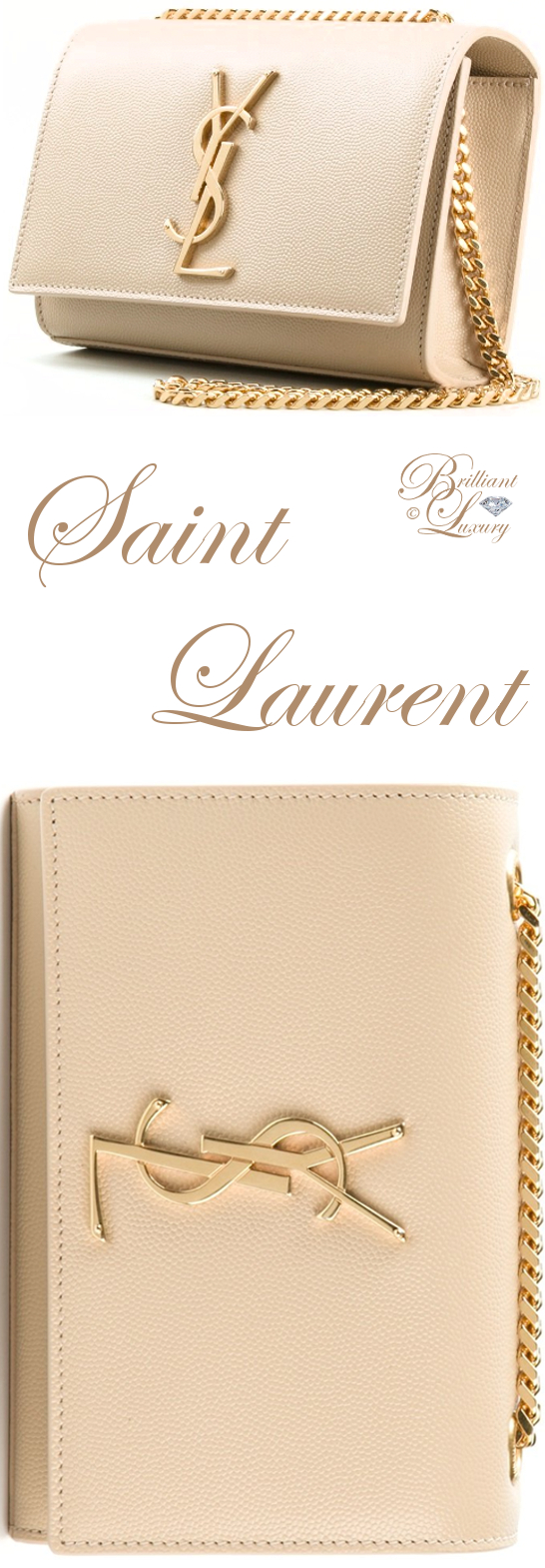 Brilliant Luxury ♦ Saint Laurent Monogram Crossbody Bag