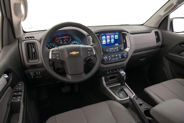 Nova Chevrolet S-10 Flex 2018 Automática - interior