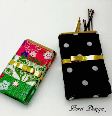 How to transform a tic tac pack into a bobby pin storage container.