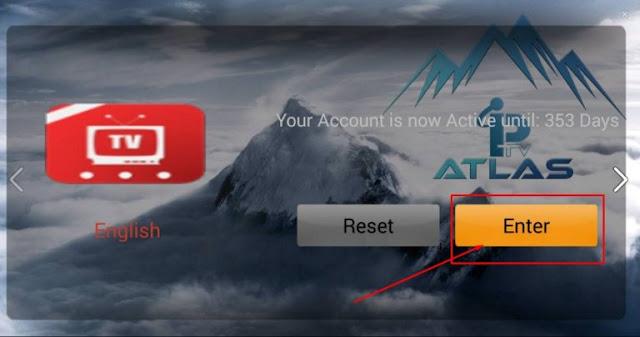 تطبيق Atlas Pro IPTV لمشاهدة القنوات مجانا على اندرويد