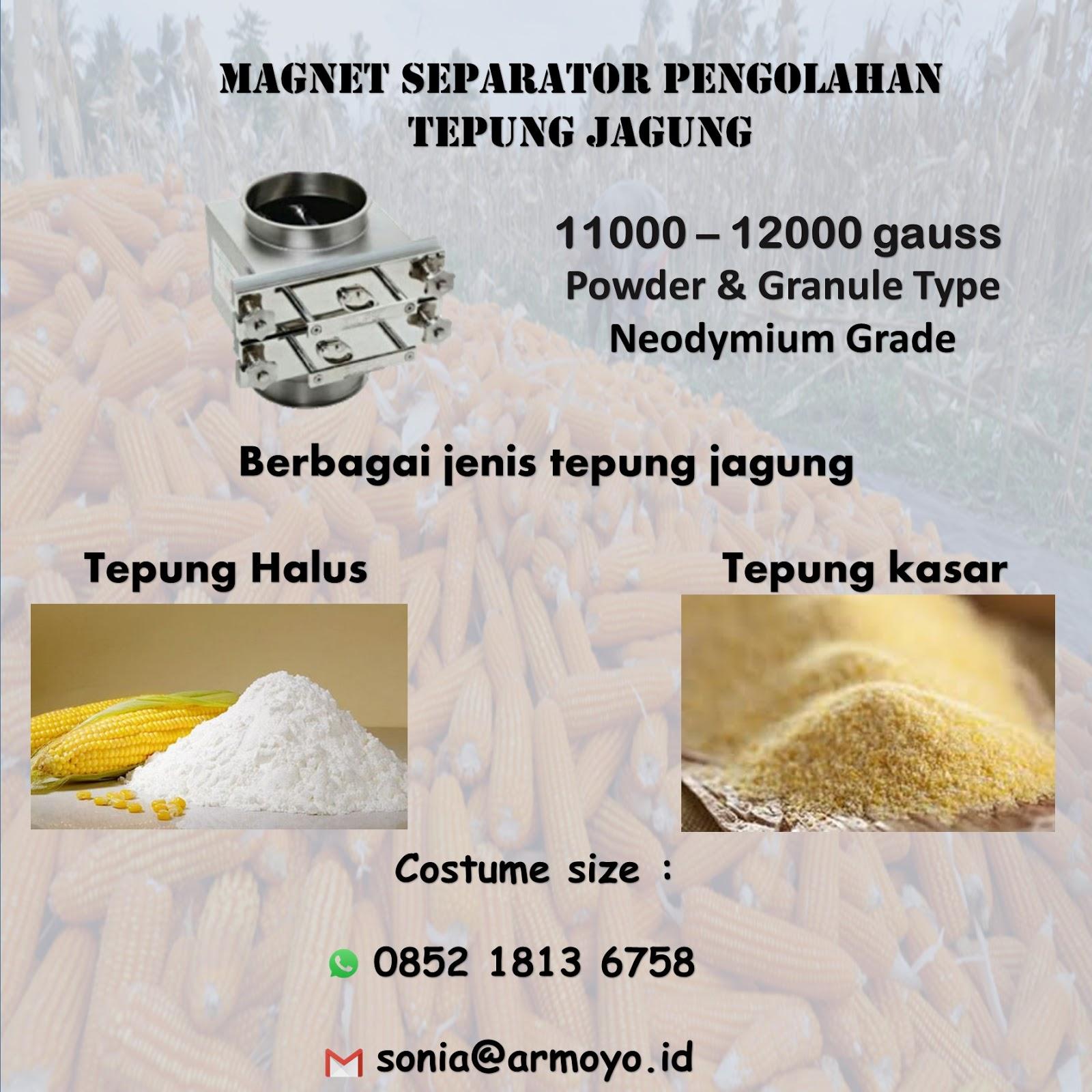 magnet tepung jagung
