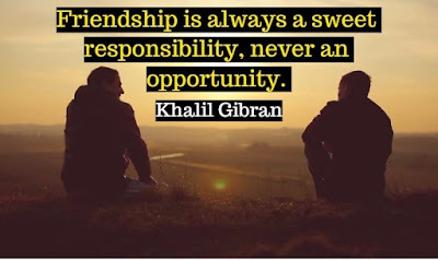 Friendship image with message