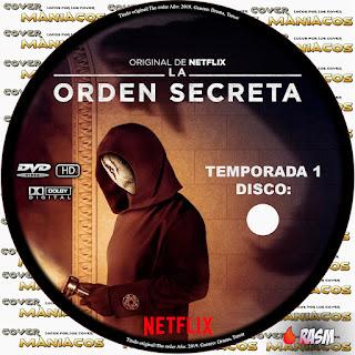 [SERIE NETFLIX] LA ORDEN SECRETA - THE ORDER - TEMPORADA 1 - 2019 [COVER DVD]