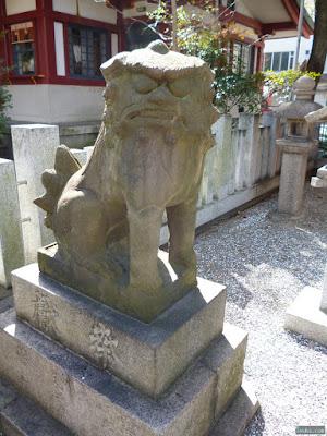 鹿島神社狛犬