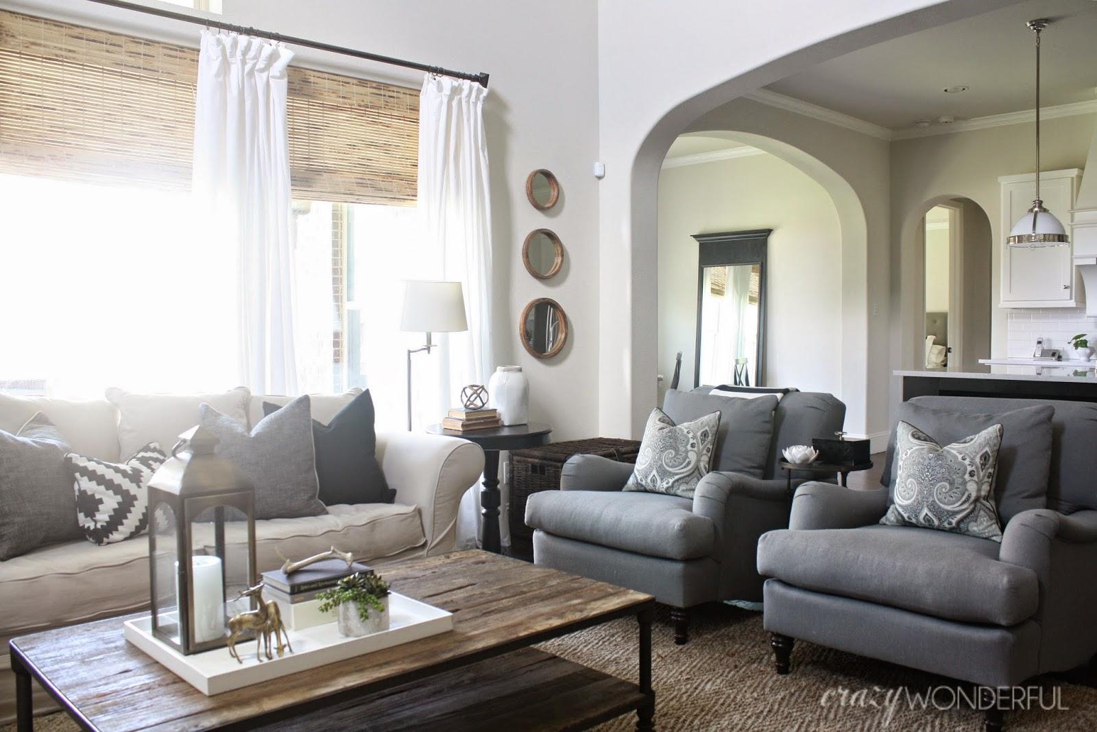 living room updates - Crazy Wonderful
