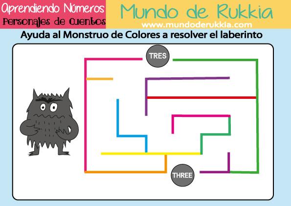 Cuaderno de Actividades para Aprender los Números - Mundo de Rukkia