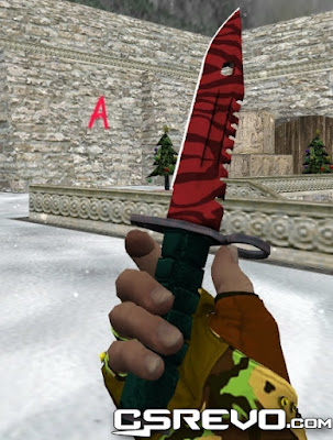 Skin Faca - M9 Slaughter v2 - HD CS 1.6, knifes, knife