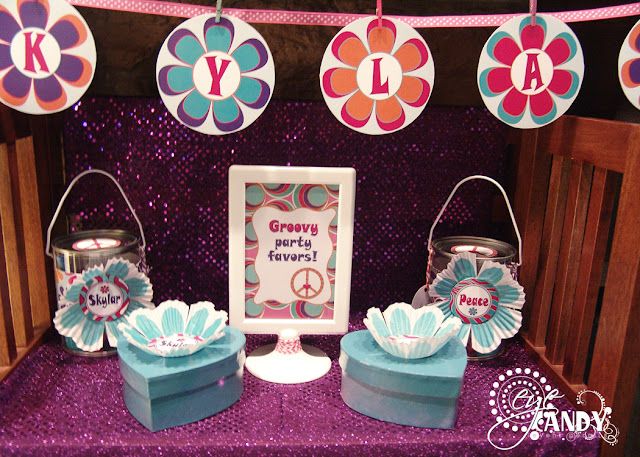 peace party decor, peace party banner, peace party favor ideas
