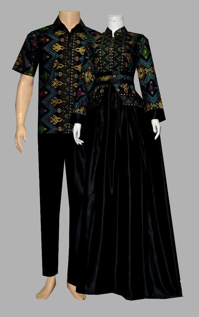 Jual Model Baju Batik Gamis Katun Prodo D1909 Batik