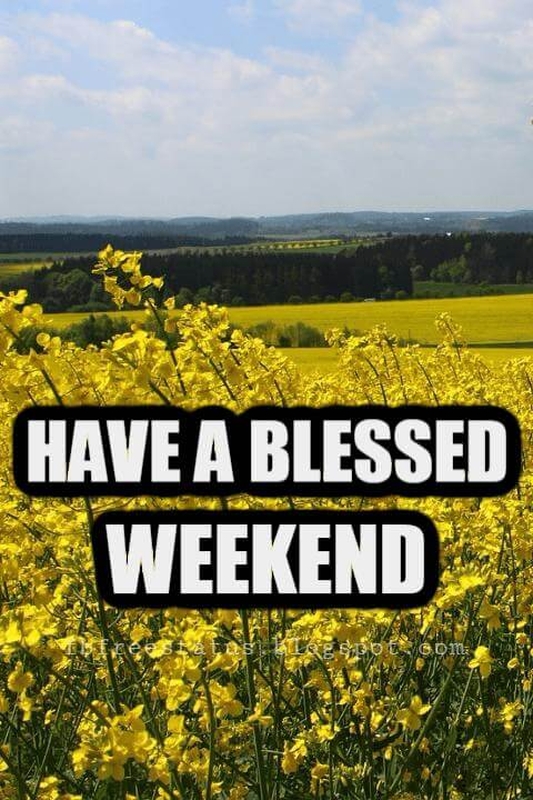 Happy Weekend Pictures, Have a Blessed Weekend.