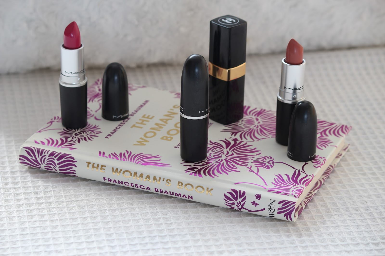 MAC Chanel Lipstick diva girl about town reviews velvet teddy