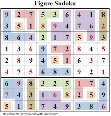Figure Sudoku (Fun With Sudoku #152) Answer