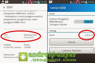 Free download / update official BBM for Android v. 2.4.0.11.apk full installer offline