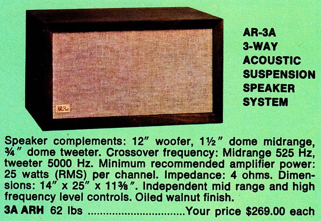 Vintage Speaker Reviews, Specs, Prices, Repairs, Refoaming