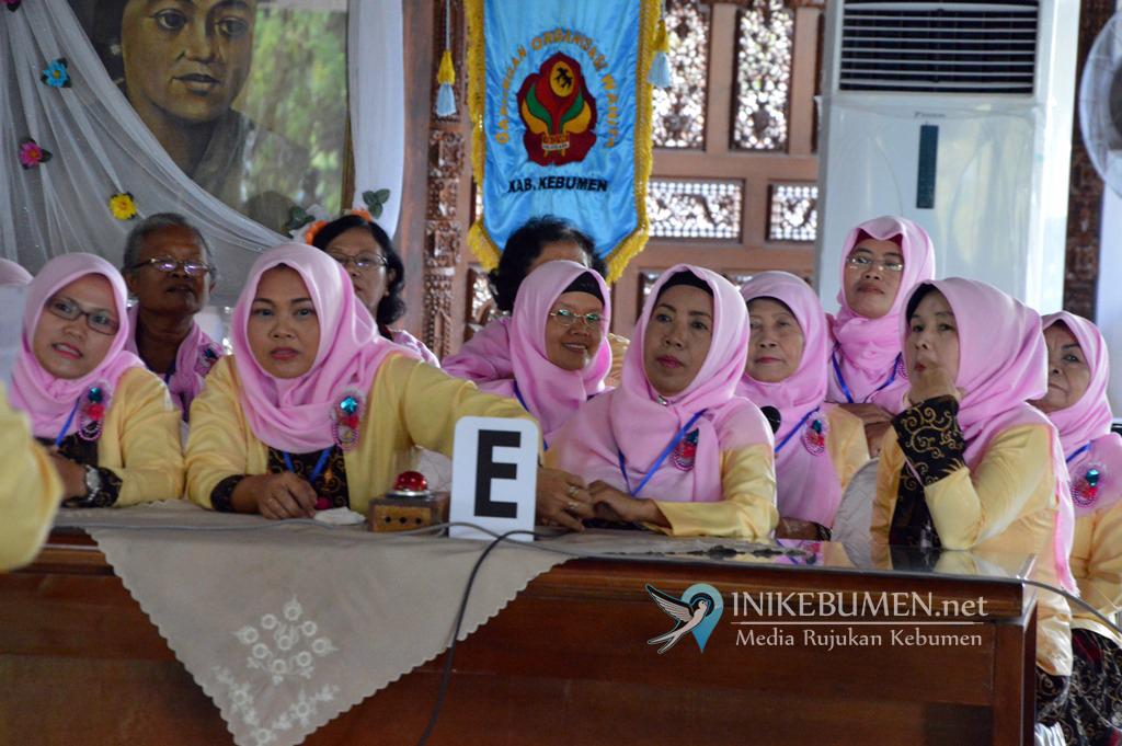 Peringati Hari Kartini, GOW Kebumen Gelar Lomba Sambung Rasa