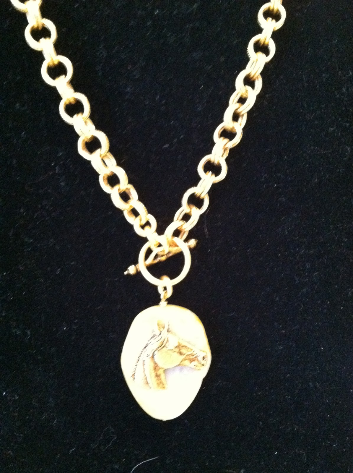 Horse Country Chic Great Equestrian Costume Jewelry