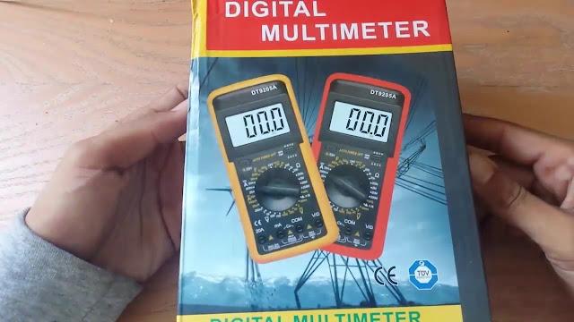طريقة استخدام الملتمتر للمبتدئين ( فحص دايود + قياس مكثف + قياس مقاومة + ملف ... الجزء الاول