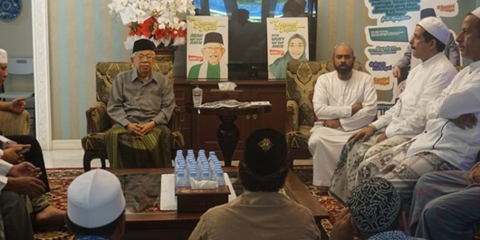 Dapat Dukungan Habaib Jatim, Ma'ruf Amin Pede Kekuatan di Pilpres Bertambah