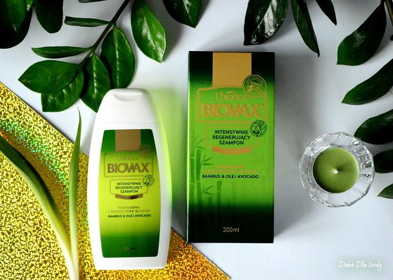 L' biotica Biovax Szampon Bambus & Olej Avocado