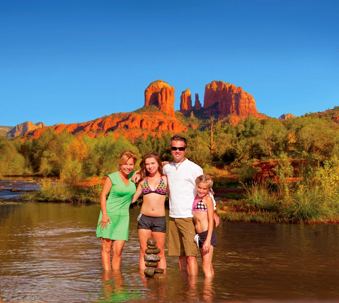 Outdoor Enthusiast's Summer Vacation in Sedona Arizona