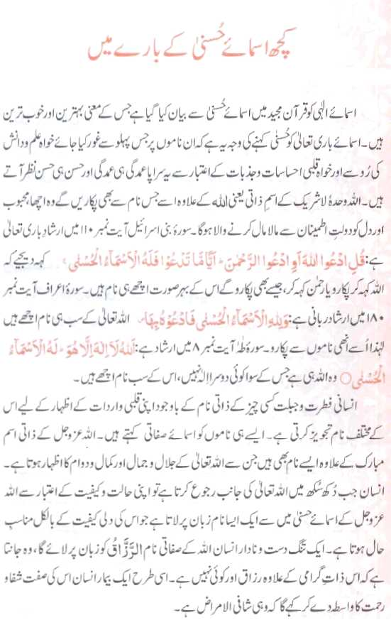 Maulana Maududi Books Al Asmaa ul Husna