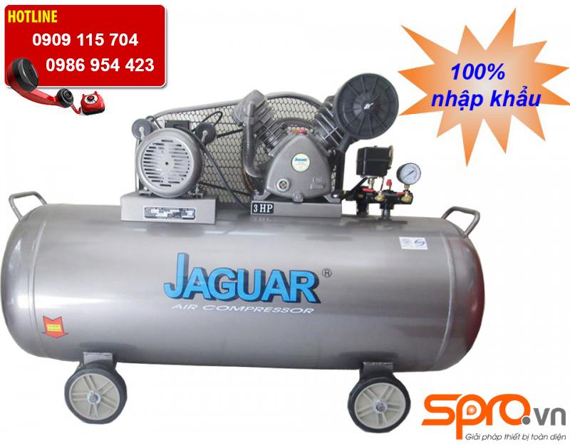 Máy nén khí piston 2 cấp jaguar 3HP HEV70H200 bình chứa 200L