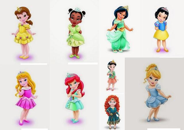 Imágenes de Princesas Disney Niñas. | Oh My Bebé!