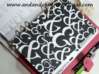 Agenda A5 de Webster´s Pages